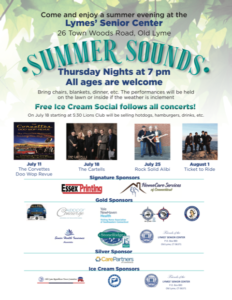 Summer Sounds @ Lymes' Senior Center | Old Lyme | Connecticut | United States